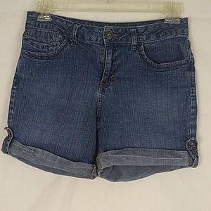 St. John's Bay Jean shorts size 10.